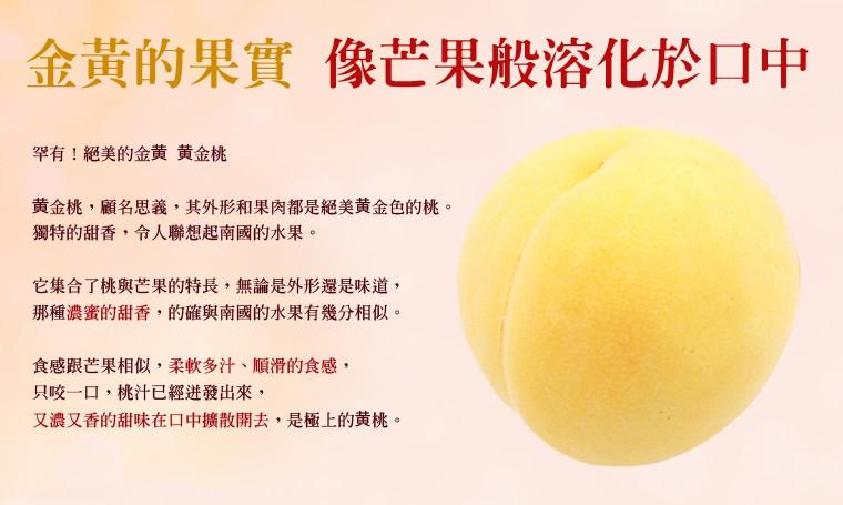 日本山形縣黃金桃